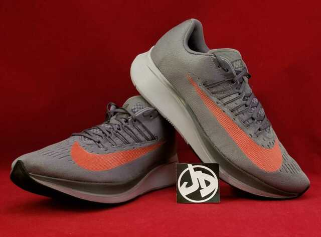 1463645531b9 NIKE ZOOM FLY GUNSMOKE BRIGHT CRIMSON RUNNING SHOES ( 880848 004 ) SIZE 11