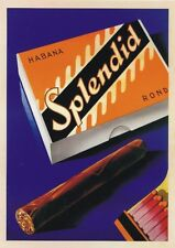 "TARGA VINTAGE ""Habana 1930 Sigari Cuba"" Pubblicità, Advertising, Poster, Plate"