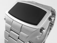 70 Años 70 Antiguos De Estilo Vintage Led Lcd Digital Raro Retro Para Hombre Reloj 12 Y 24 Hora W