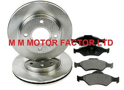 For Ford Fusion 1.4 16V 1.4 TDCi 1.6 1.6 TDCi 2002 Front Brake Discs /& Pads