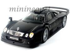MAISTO 36849 MERCEDES BENZ CLK GTR GT-R AMG STREET VERSION 1/18 MATTE BLACK