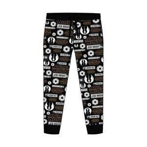 Men-039-s-Star-Wars-All-Over-Print-Cuffed-Lounge-Pants-Pyjama-Bottoms-Nightwear