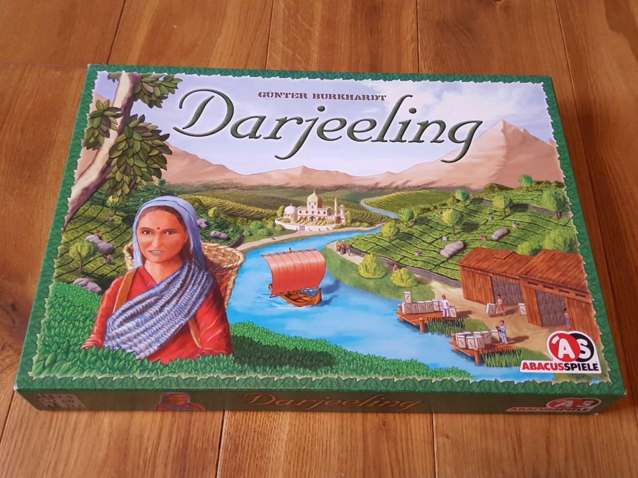 Darjeeling Board Game 100% Complete - GREAT CONDITION 2007 Rio Grande Games