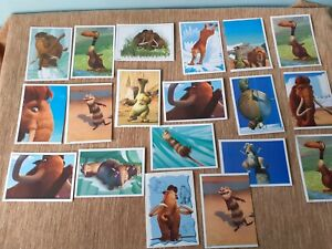 Job lot Bundle 19 x Ice Age 2 Panini Stickers for Album 20th Century Fox