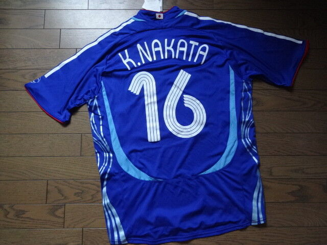 Japan K.Nakata   Authentic Player Issue Soccer Jersey 2006 BNWT XO