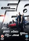 Fast and Furious 1-6 (DVD, 2013, 6-Disc Set, Box Set)