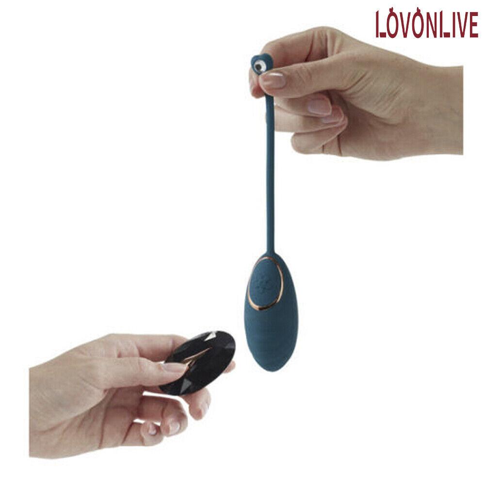 Silikon Vibrator Vibrationsei mit Fernbedienung vibrierende aufladbar für Frauen
