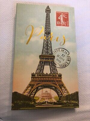 "Europe France Paris Eiffel Tower Handcrafted Photo Album 5 1//2/""X7/""  80 4/""X6/""  P"