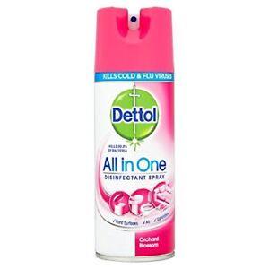 Dettol-todo-en-un-huerto-Blossom-400ml-Aerosol-desinfectante-Paquete-de-3