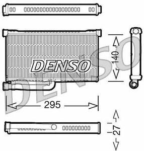 DENSO HEAT EXCHANGER, HEATER MATRIX FOR AN AUDI A6 ESTATE 3.0 165KW