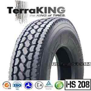 Semi Truck Tires Near Me >> Terraking Hs208 295 75r22 5 16 Ply Premium Drive Rear Semi