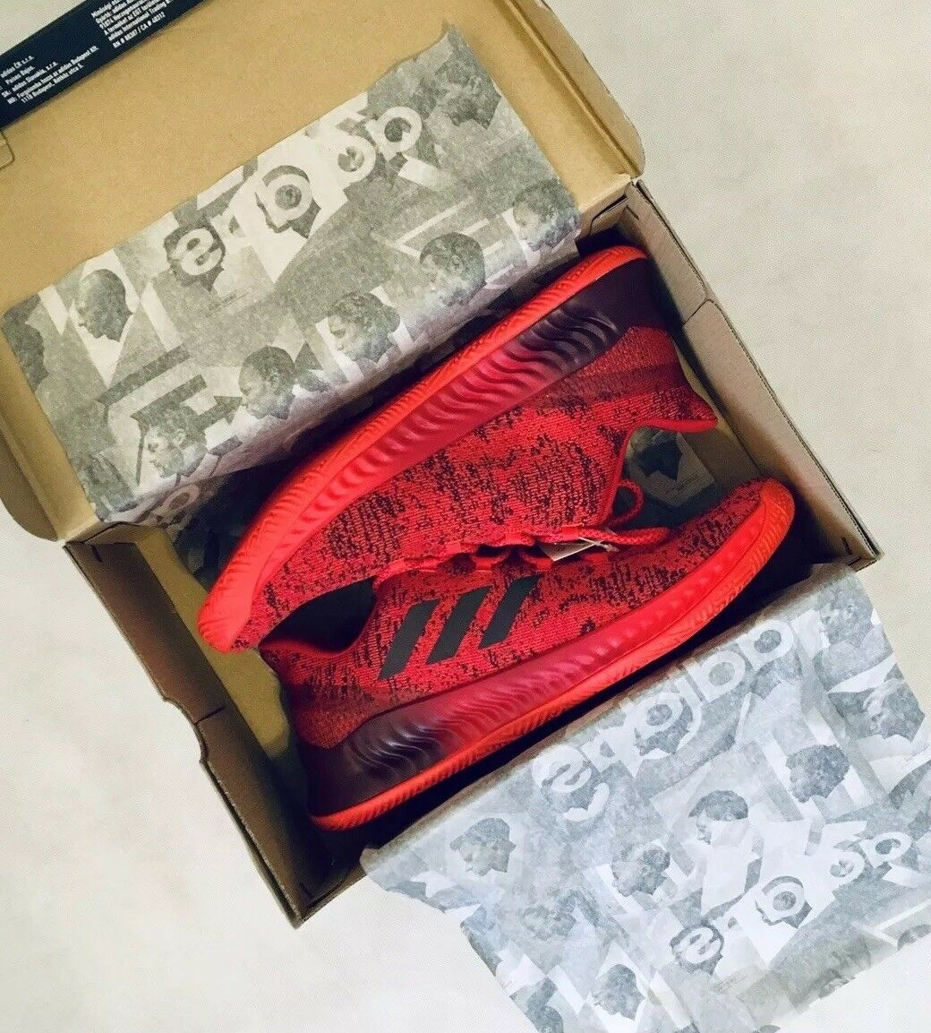 512d1ccd756c NEW NEW NEW IN BOX! ADIDAS Harden B E X Men s Red   Black Low ...