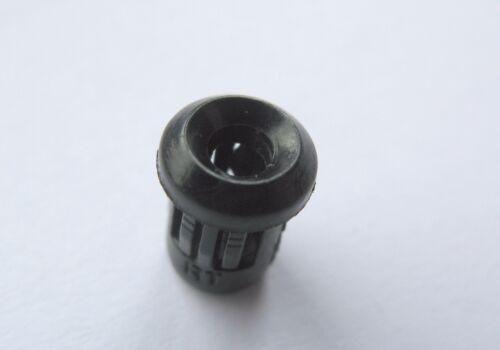 3mm or 5mm Black Plastic LED Holder Diode Mount Bezel Case Top Quality  1-50 pcs