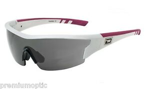 Dirty Dog Polarised Wix Sports Visor Sunglasses White Pink 58042 by Dirty Dog