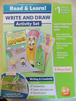 Leapfrog Write And Draw Activity Set Mr. Pencil