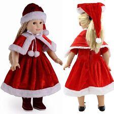 Weihnachten Kleider Bekleidung und Kleid für Barbie-Puppe Hochzeit Party Kleid