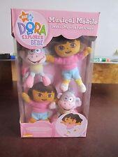 New Baby Crib mobile Dora the Explorer Bebe Boots Pink cute fun Nick Jr Junior