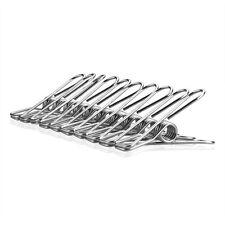 10-100 Stück Edelstahl Metall Wäscheklammer Winddicht Wäscheklammern Klammern