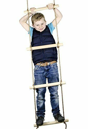 6 Ft Climbing Rope Ladder For Kids Swing Set Accessories Swings
