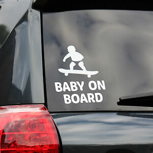 Decals/emblems/license Frames Baby Responsible Baby On Board Safety Decals Sticker Cars Window