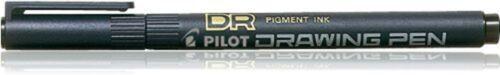 Pilot DR Drawing Pen 03 0.4 Mm Tip Black Box Of 12