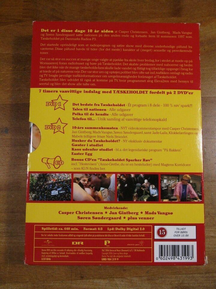 Tæskeholdet boks (2006), DVD, komedie