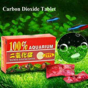 Water-Grass-Accessory-CO2-Equipment-Carbon-Dioxide-Tablets-Aquarium-Diffuser