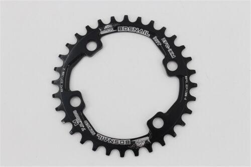SNAIL Round 96BCD 30//32//34//36//38T Chainring MTB Bike Chain Ring M7000//8000//9000