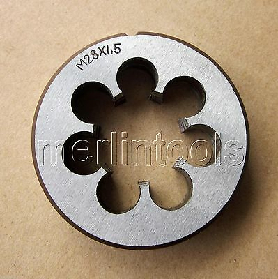 28mm x 1.5 Metric Right hand Die M28 x 1.5mm Pitch M/_M/_S