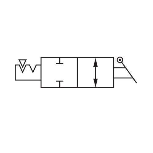 Pneumatik IQS Standard Winkel-Absperrhahn mit AG und Steckanschluss IQS