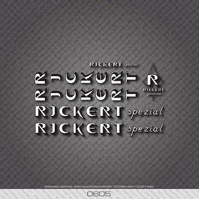 Rickert decal set German vintage Ric Super