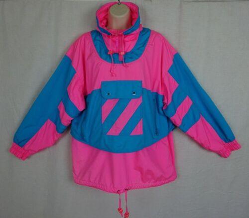 Vintage Ossi Women's Lightweight Pullover ~ Neon P