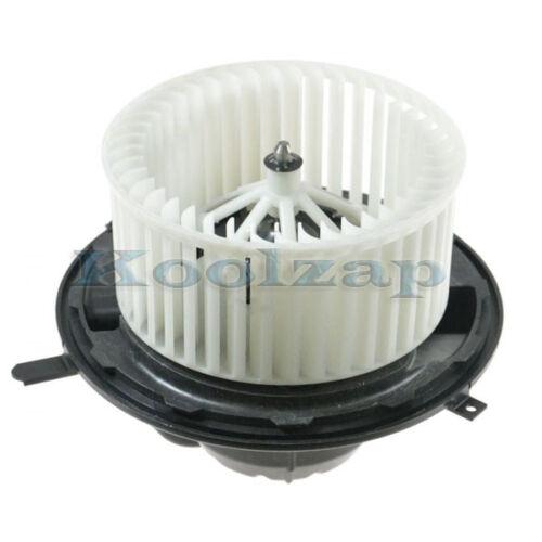 BMW 1//3-Series X1 X3 Z4 E87 E90 Heater AC A//C Blower Motor Assembly w//Fan Cage