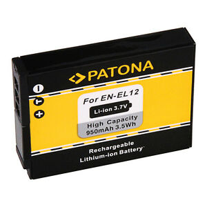 Patona-Akku-fuer-Nikon-CoolPix-S9500-S9600-S9700-S9900-950mAh