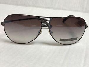 NWT-325-VTG-John-Varvatos-Sunglasses-709-Brown-Metal-Base-Curve-65-12-125