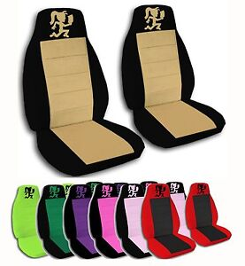 2 Front Hatchet Woman Velvet Seat Covers With 20 Color