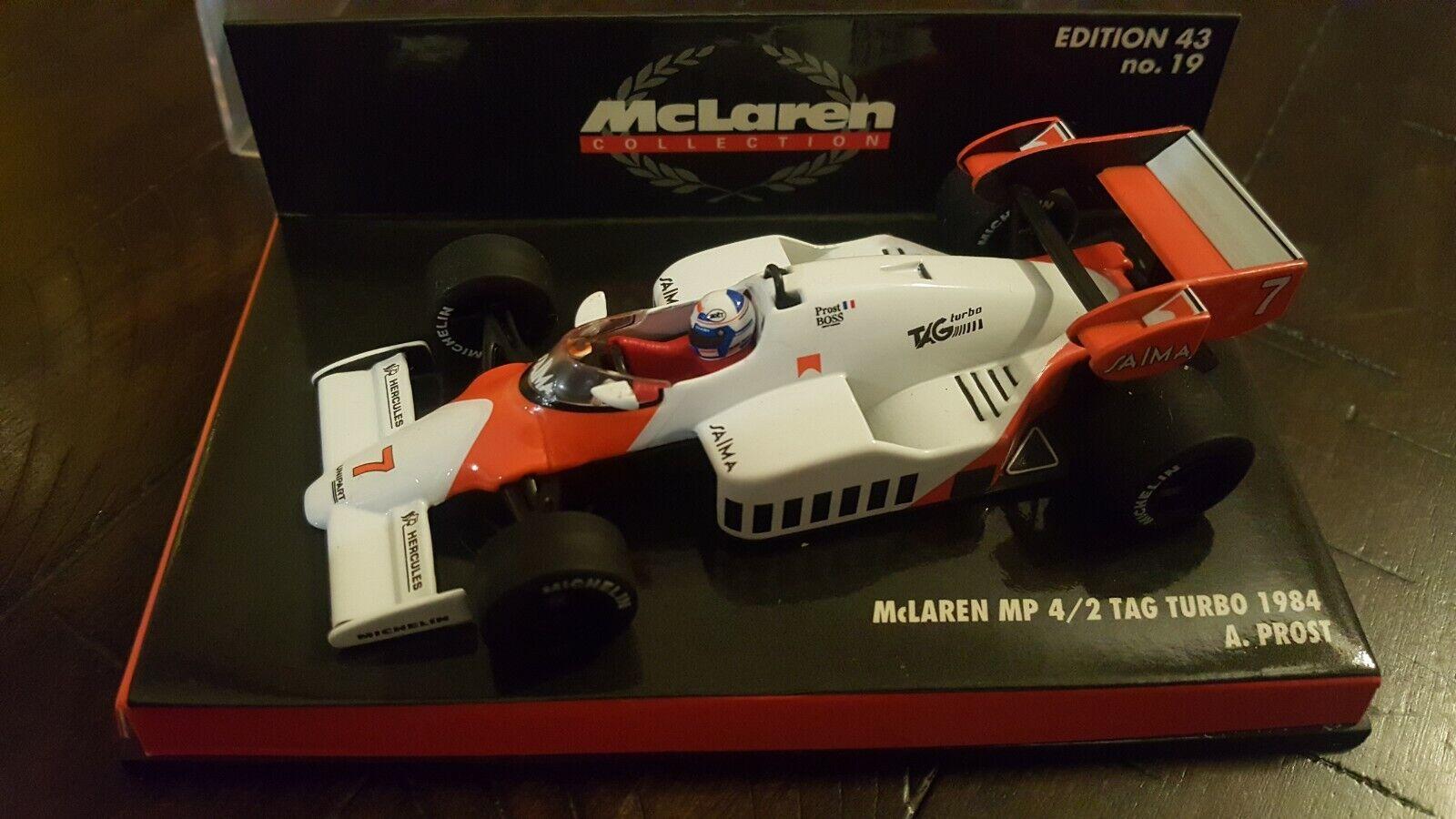 McLaren MP4//2 Lauda 1984 #8 1:43 RBA-Blister Modellauto