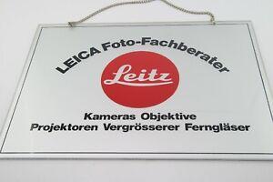 """Leitz/Leica Original Schild """"LEICA Foto-Fachberater"""", (940332)"""