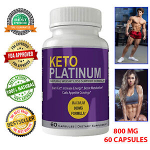 KETO PLATINUM PILLS Advance Weight Loss Ketogenic 800 mg