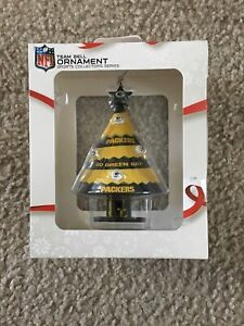 NFL-Green-Bay-Packers-Team-Bell-Ornament-Sports-Collectors-Series-NEW-IN-BOX