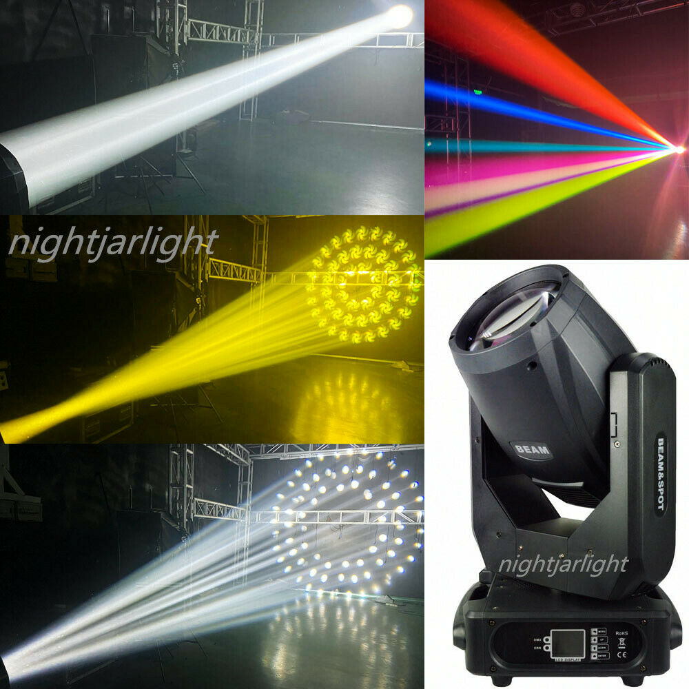 2pcs with flycase Rainbow 8R 3in1 Sharpy 250W Moving Head Light stage lighting
