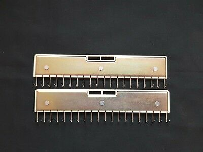 SILVER REED KNITTING MACHINE PARTS  LC2 MOD360//260L LACE CARRIAGE EDGE PINS X4