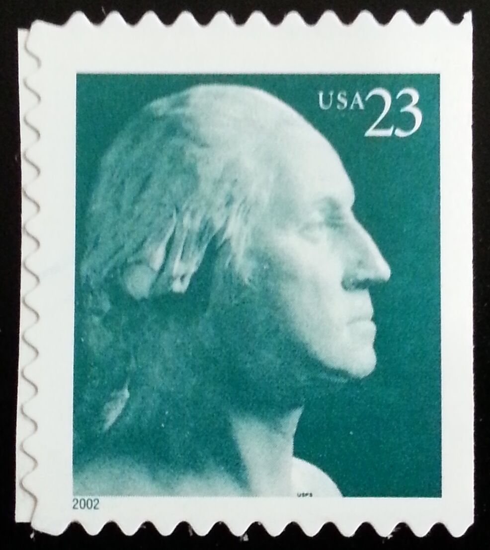 2002 23c George Washington, SA Scott 3619 Mint F/VF NH