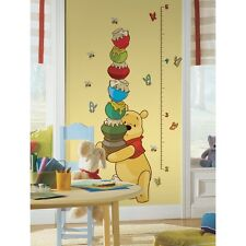 Item 2 Winnie The Pooh Growth Chart Wall Sticker Decals Nursery Room Decor Baby