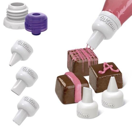 Wilton Candy Melt Decorating Tip Set