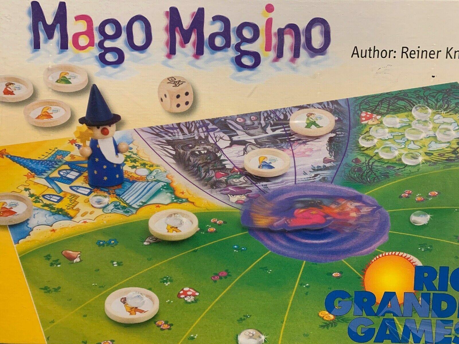 Mago Magino Board Game - NEW SEALED