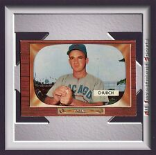 """1955 Bowman EMORY """"BUBBA"""" CHURCH #273 NM-MT+ *awesome card for your set* M40C"""