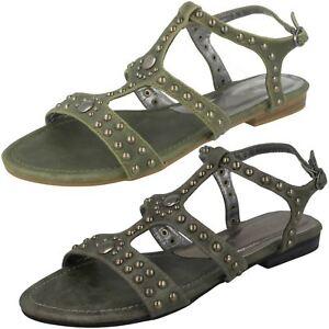 vert femmes pour 'Spot' ouvert à Khaki Chaussure bout wqtI0OB