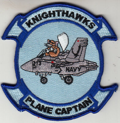 VFA-136 KNIGHTHAWKS SHORT SLEEVE T-SHIRT IN THE SIZE MEDIUM
