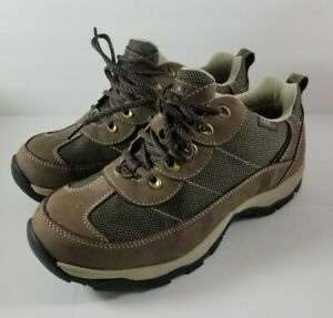 LL.BEAN TEK 2.5 Waterproof Hiking Trail Ankle Shoes Boots Womens Size 9.5 BROWN